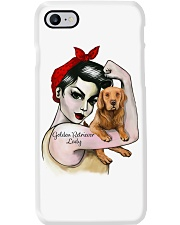 Golden Retriever Lady Phone Case thumbnail