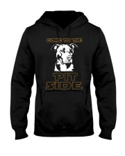 Come To The Pitbull Hooded Sweatshirt front