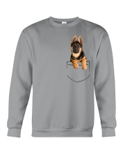German Shepherd Pocket Crewneck Sweatshirt thumbnail