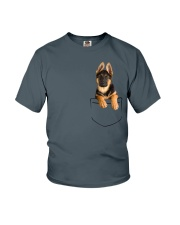 German Shepherd Pocket Youth T-Shirt thumbnail