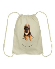 German Shepherd Pocket Drawstring Bag thumbnail
