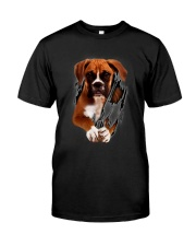 Boxer Beauty Classic T-Shirt front