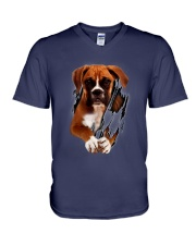Boxer Beauty V-Neck T-Shirt thumbnail