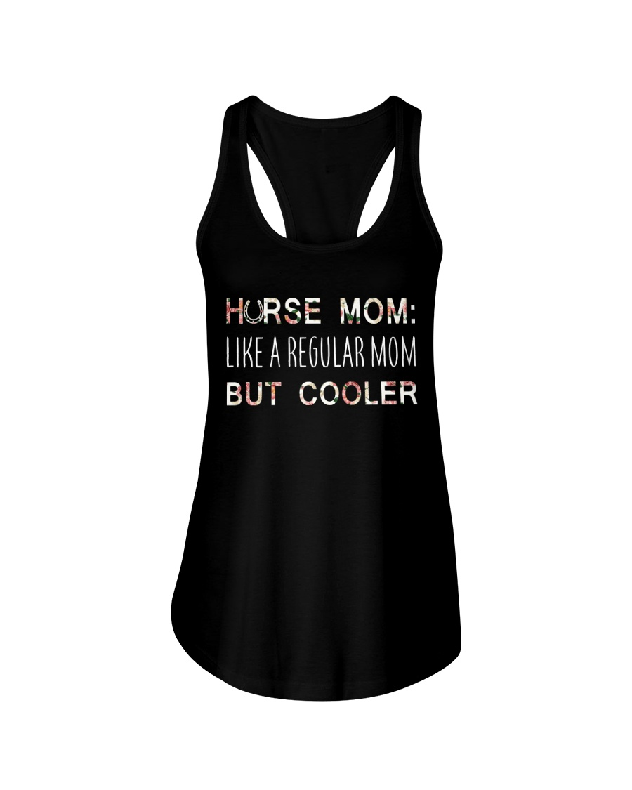 Horse Mom Like A Regular Mom  Ladies Flowy Tank