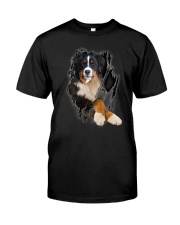 Bernese Mountain Beauty Classic T-Shirt front