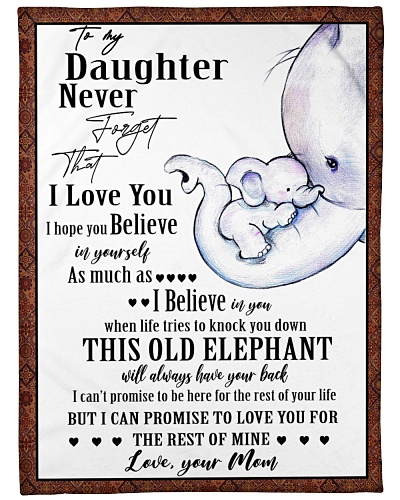 Elephant Daughter Mom