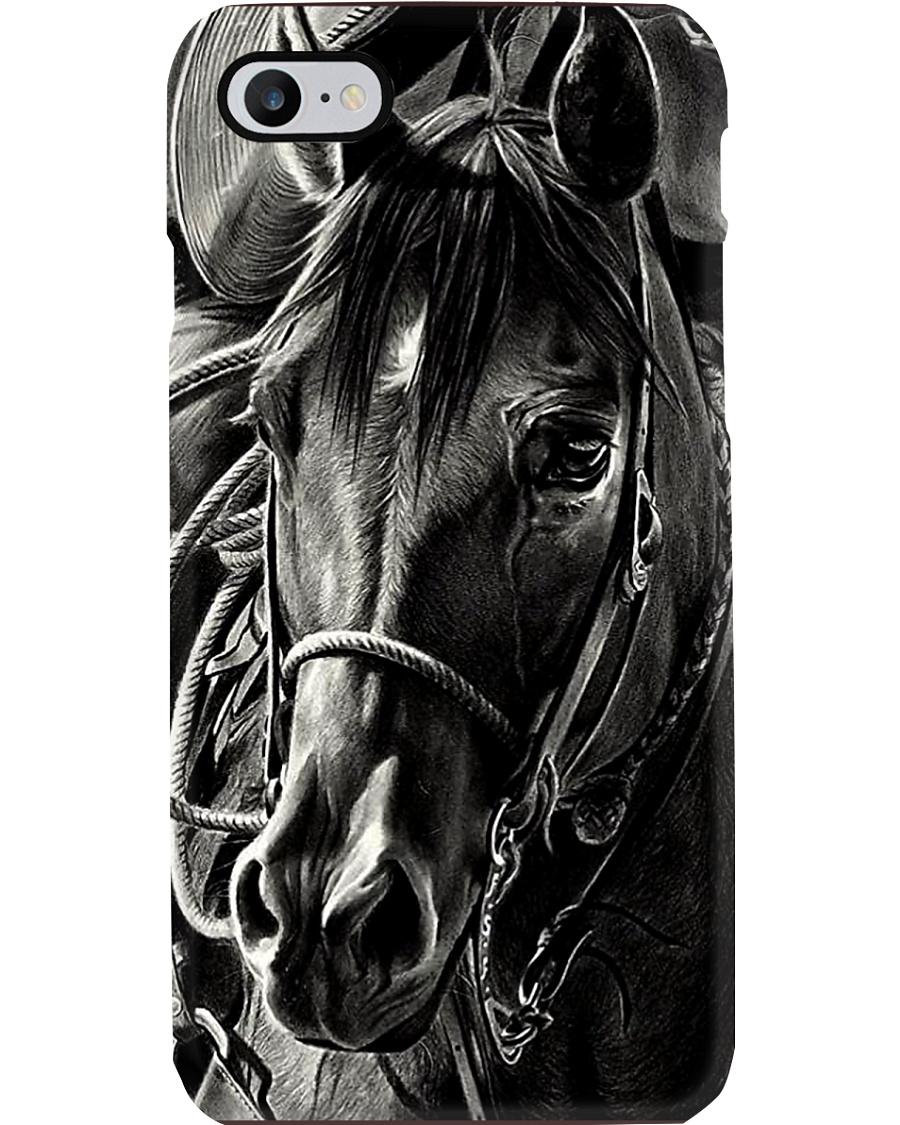 Horse Black Beauty Phonecase Phone Case