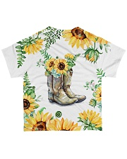 Horse Boot Shirt All-over T-Shirt back