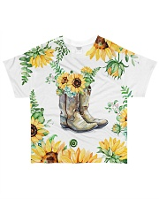 Horse Boot Shirt All-over T-Shirt front