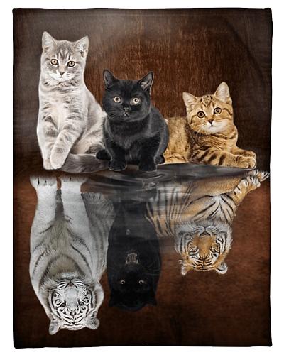 Cat Funny Three Cat Reflection Graphic Design
