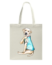 Labrador I Love Mom Tattoo Tote Bag thumbnail