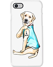 Labrador I Love Mom Tattoo Phone Case thumbnail