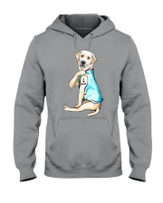 Labrador I Love Mom Tattoo Hooded Sweatshirt thumbnail