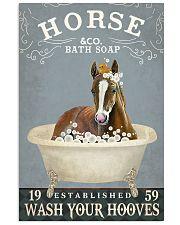 Horse Bath Soap Co 11x17 Poster front