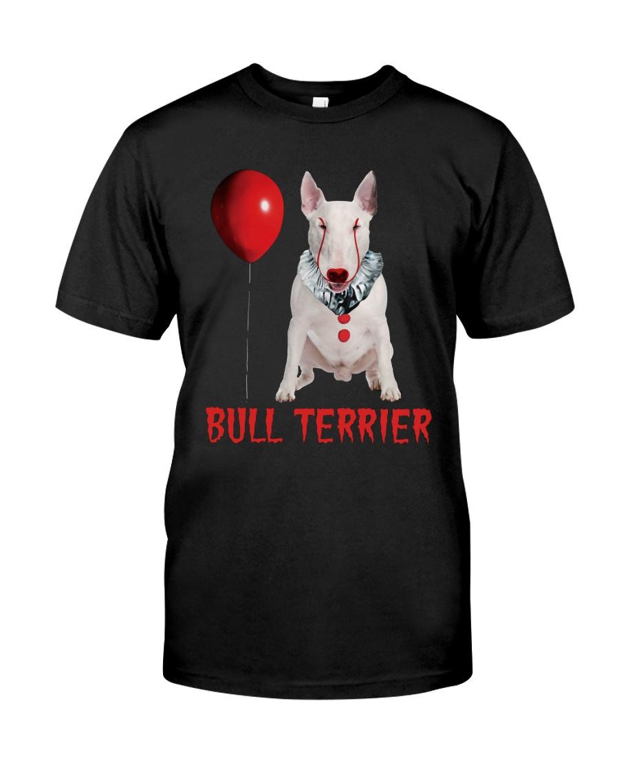 Bull Terrier Horror Halloween Classic T-Shirt