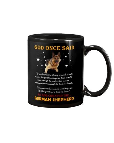 German Shepherd - God Once Said