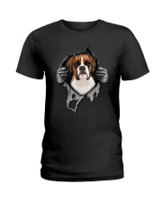Boxer Inside Me Ladies T-Shirt thumbnail