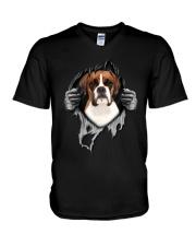 Boxer Inside Me V-Neck T-Shirt thumbnail