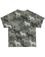 Australian Cattle Dog Camouflage All-over T-Shirt back