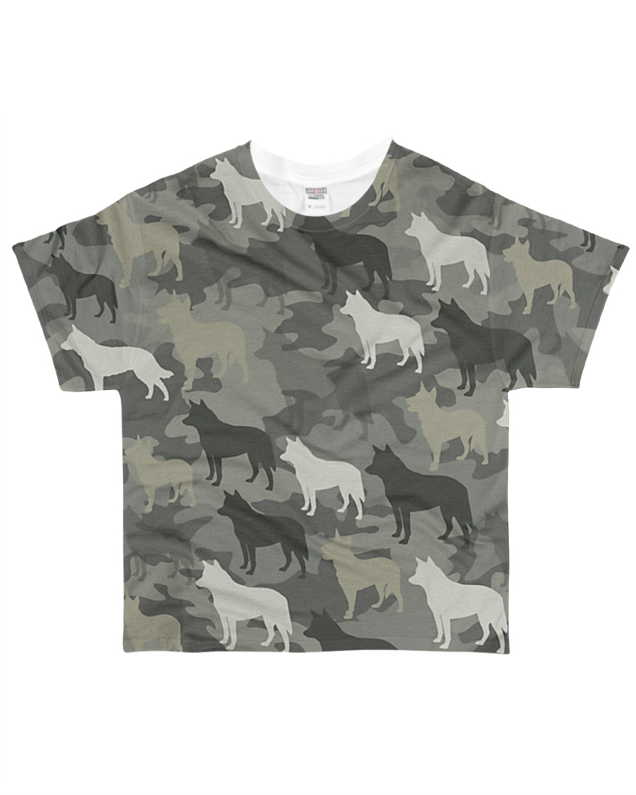 Australian Cattle Dog Camouflage All-over T-Shirt