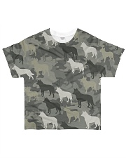 Australian Cattle Dog Camouflage All-over T-Shirt front