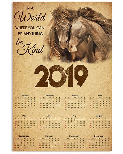 Horse 2019 Calendar