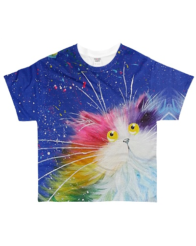 Cat Kitty With Colors