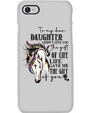 Horse To My Daughter Phone Case thumbnail