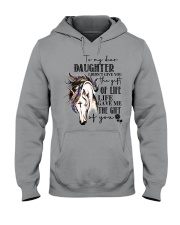 Horse To My Daughter Hooded Sweatshirt thumbnail