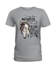 Horse To My Daughter Ladies T-Shirt thumbnail