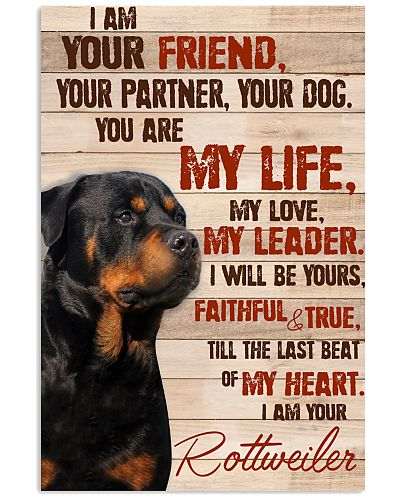 Rottweiler I Am Your Friend