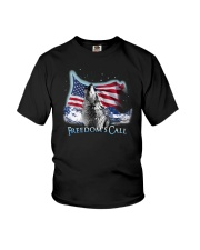 Freedom's call Youth T-Shirt thumbnail