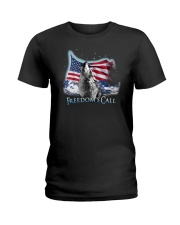 Freedom's call Ladies T-Shirt tile