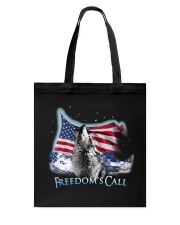 Freedom's call Tote Bag tile