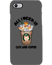 All I Need Is Cats And Coffee Phone Case thumbnail
