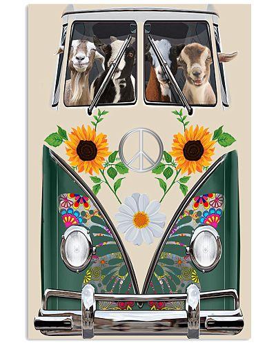 Goats Peace Sunflower
