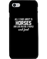 All I Care About Is Horses Phone Case thumbnail