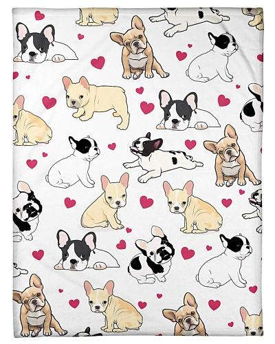 French Bulldog Funny Heart Love Graphic Design