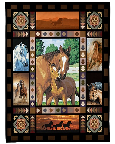 Horse Mom Native Pattern