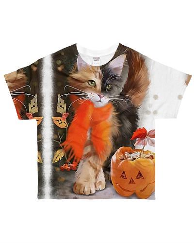 Cat  Autumn