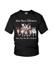 bull terrier diamonds Youth T-Shirt thumbnail
