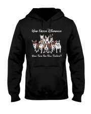 bull terrier diamonds Hooded Sweatshirt front