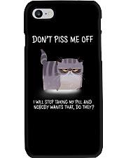 Cats--Don't Piss Me  Phone Case thumbnail