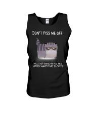 Cats--Don't Piss Me  Unisex Tank thumbnail