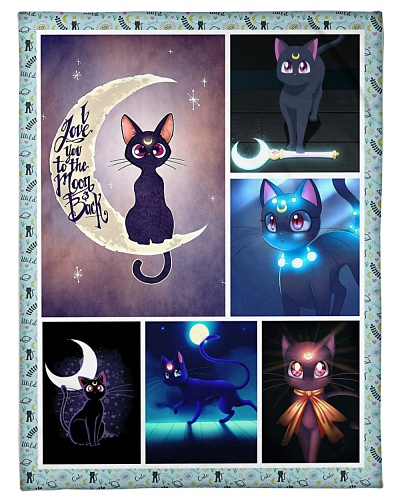 Cat Funny I Love You To The Moon Graphic Design