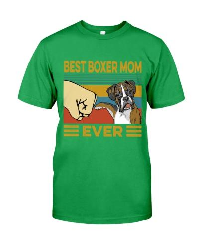 Best Boxer Mom Vintage