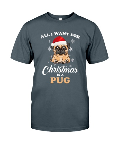 All I Want For Christmas Is A Pug