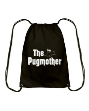 Pug Mothers Drawstring Bag thumbnail