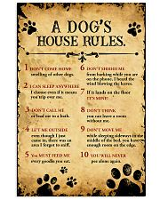 Dog's House Rules 11x17 Poster front