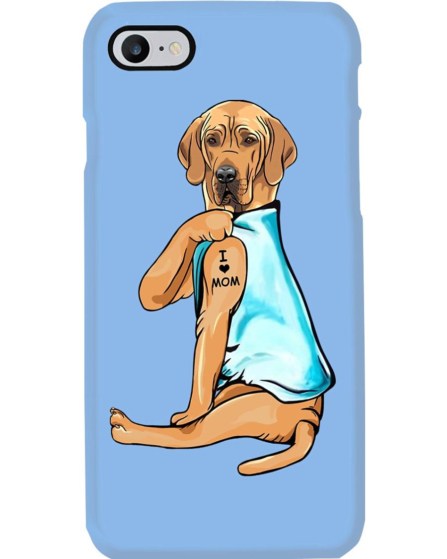Great Dane I Love Mom Phone Case